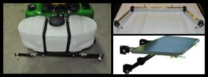 Lawn Mower Sprayer Attachment