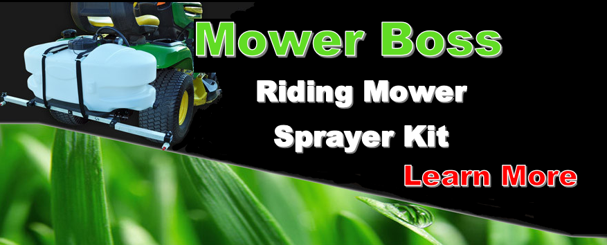 Mower Sprayer Attachment