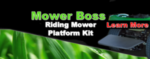Spray Kit for Riding Lawn Mower